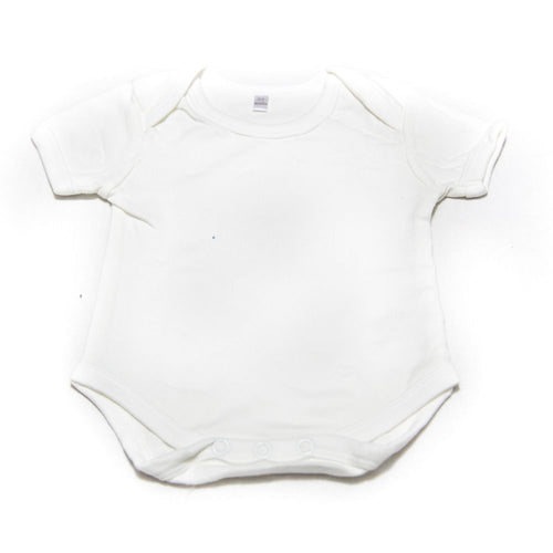 Newborn Baby Boys Girls Romper Bodysuit For 0 To 3 Month Kids – White - Romper - diKHAWA Online Shopping in Pakistan