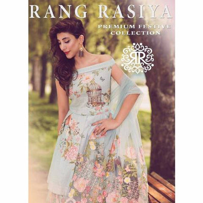 RANG RASIYA LAWN SUIT - Replica - Unstitched