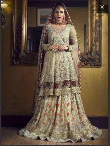 ZAINAB CHOTTANI NET BRIDAL SUIT - Replica - Unstitched