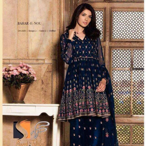 Indian Chiffon Suit