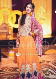 IRFAN AHSAN BRIDAL SHARARA - Replica - Unstitched