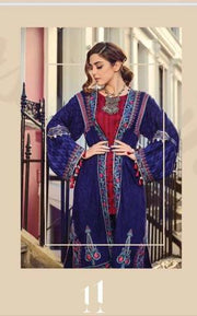 MARIA B KHADDAR SUIT (Replica) (Unstitched)