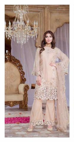 SERENE CHIFFON SUIT (Replica) (Unstitched)