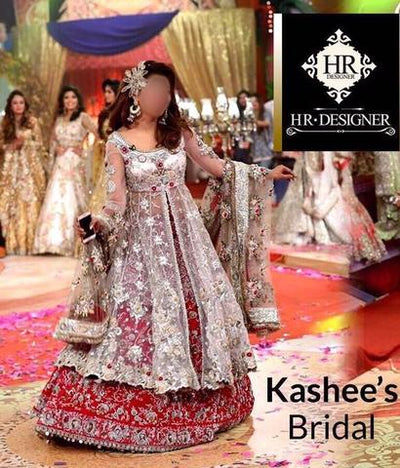 KASHEE'S BRIDAL NET SUIT (Replica) (Unstitched)