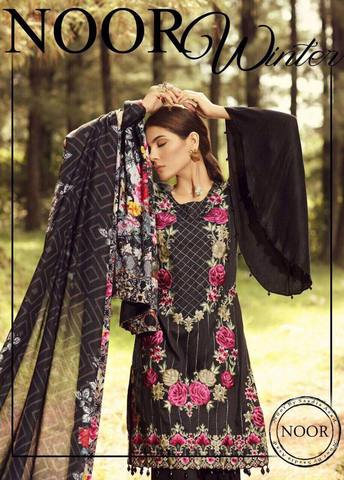 SADIA ASAD LINEN SUIT - Replica - Unstitched