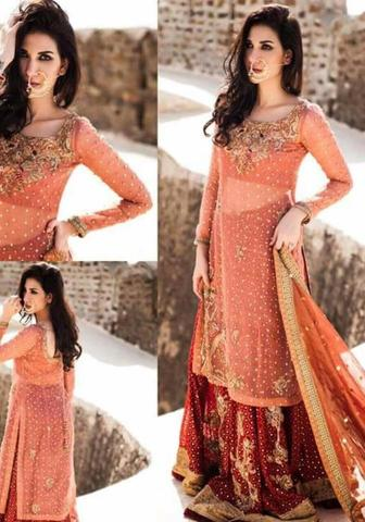 SHEEBA KAPADIA CHIFFON SUIT (Replica) (Unstitched)
