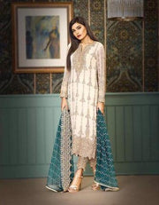 ASIM JOFA CHIFFON SUIT - Replica - Unstitched
