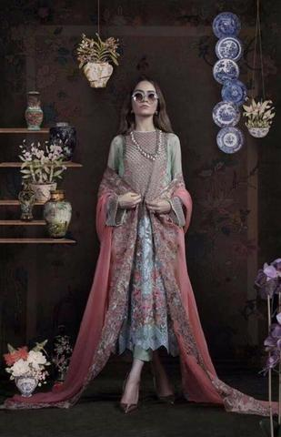 SANA SAFINAZ NET SUIT - Replica - Unstitched