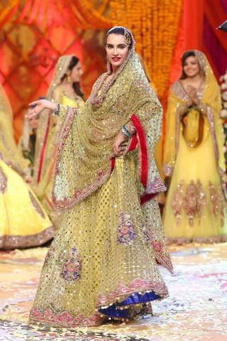 KASHEE'S BRIDAL NET SUIT - Replica - Unstitched
