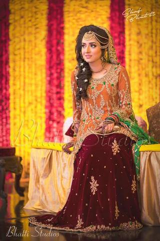 IRFAN AHSAN BRIDAL SUIT - Replica - Unstitched