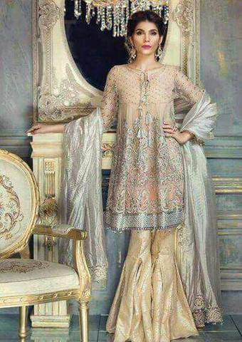 MARYAM'S CHIFFON SUIT - Replica - Unstitched