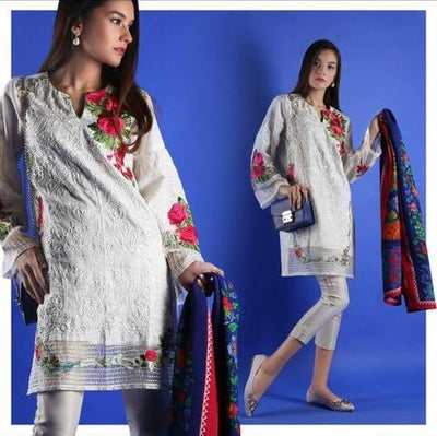 SANA SAFINAZ COTTON SUIT - Replica - Unstitched
