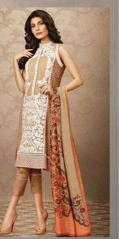SOBIA NAZIR CHIFFON SUIT - Replica - Unstitched