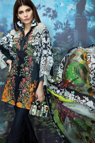 SANA SAFINAZ LAWN SUIT - Replica - Unstitched