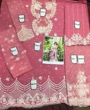 SOBIA NAZIR NET SUIT - Replica - Unstitched