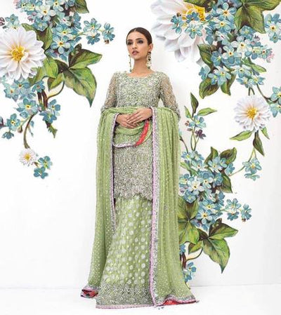 NOMI ANSARI BRIDAL SUIT - Replica - Unstitched