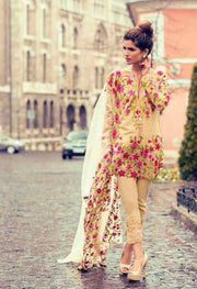 MINA HASSAN LAWN SUIT - Replica - Unstitched