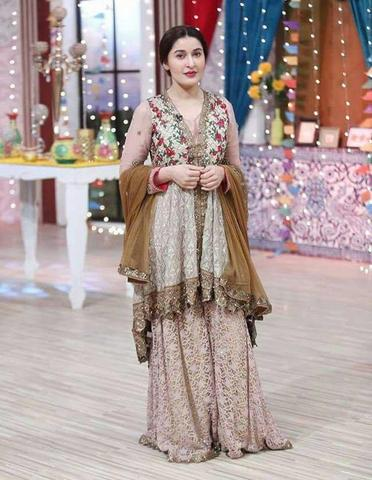 SHAISTA CHIFFON BRIDAL SUIT - Replica - Unstitched
