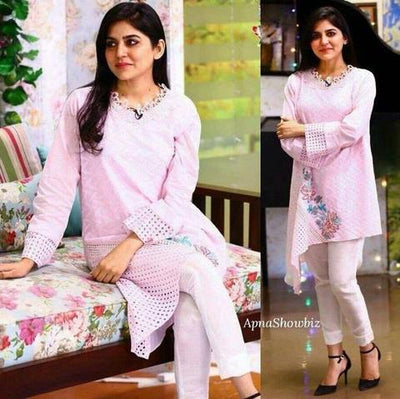 SANAM BALOCH COTTON SUIT - Replica - Unstitched
