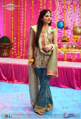 SANAM BALOCH NET SUIT - Replica - Unstitched