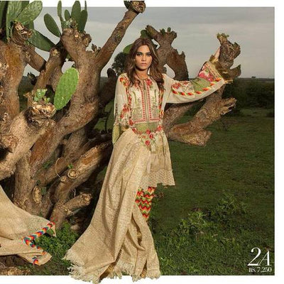 Sana Safinaz Lawn Suit (Replica) (Unstitched)