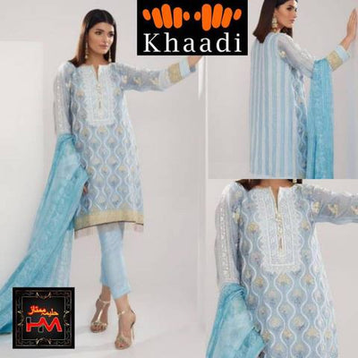 KHAADI KHAAS NET SUIT (Replica) (Unstitched)