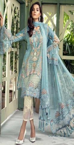 MARIA B LAWN SUIT (Replica) (Unstitched)