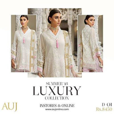 Auj Lawn Collection 2019 (Replica) (Unstitched)
