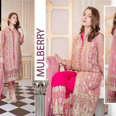 MARYAM'S COLLECTION 2018  (Replica) (Unstitched)