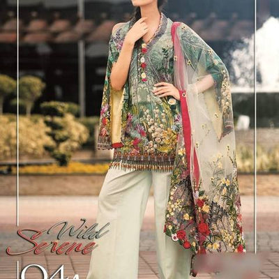 BRAND Serene Lawn Collection 2019  (Replica) (Unstitched)
