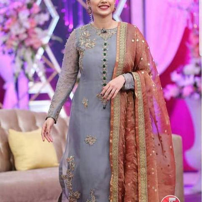 Sanam Jang New Bridal dress (Replica)(Unstitched)