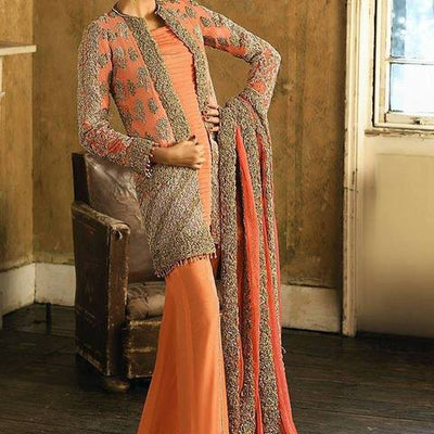 Asim Jofa Chiffon Collection 2019  (Replica)(Unstitched)