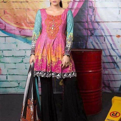 Maria B Khaddar Winter Collection (Replica)(Unstitched)