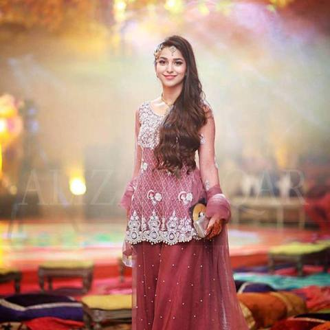 ALIZAH WAQAR NET BRIDAL SUIT  (Replica)(Unstitched)