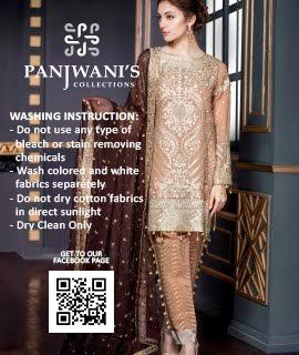 MARYAM'S PARTY WEAR COLLECTION - Replica - Unstitched