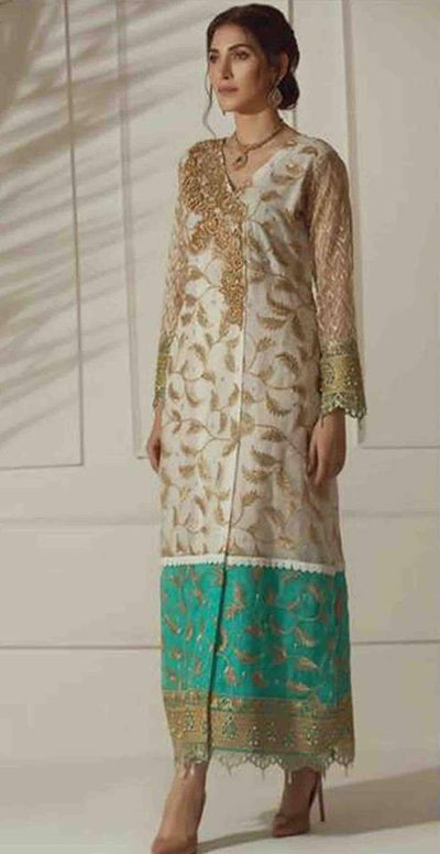 Waseem Noor Chiffon Collection - Replica - Unstitched