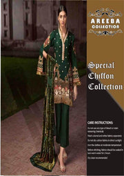 Gul Ahmed Cotton Dresses - Embroidered Silk Dupatta - Replica - Unstitched