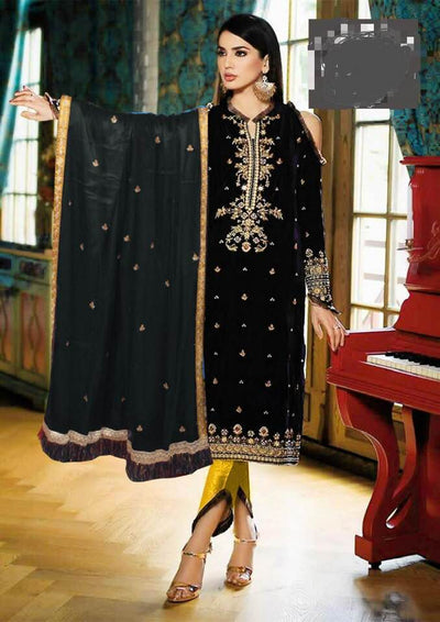 Gul Ahmed Net Dresses - Embroidered Net Dupatta  - Replica - Unstitched