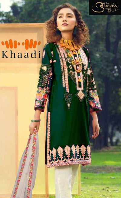 KHAADI Party Dress -Replica -Unstitched