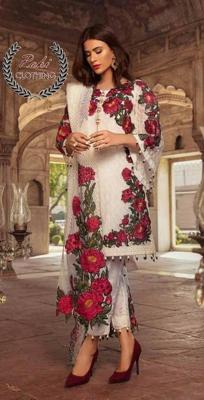 Gulaal Chiffon Collection - Replica - Unstitched