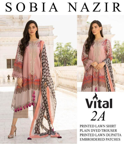 SOBIA NAZIR Collection Replica - Unstitched