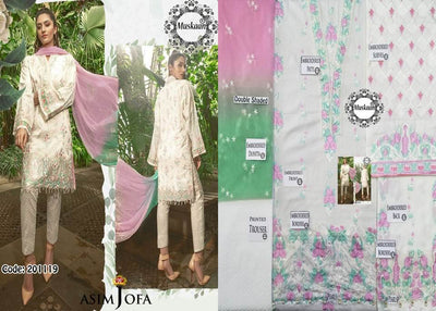 Asim Jofa Lawn Collection Replica - Unstitched