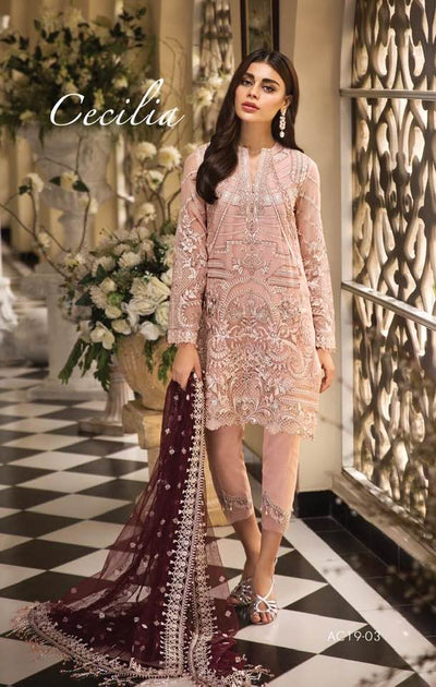 Anaya Chiffon Collection Replica - Unstitched