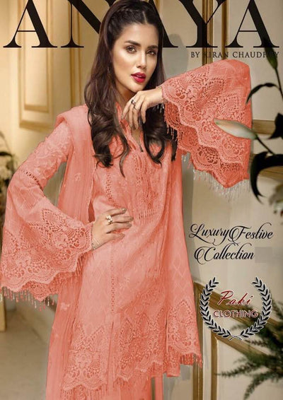 ANAYA LUXURY CHIFFON COLLECTION  Replica - Unstitched
