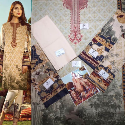 Sana Safinaz Lawn COLLECTION  Replica - Unstitched