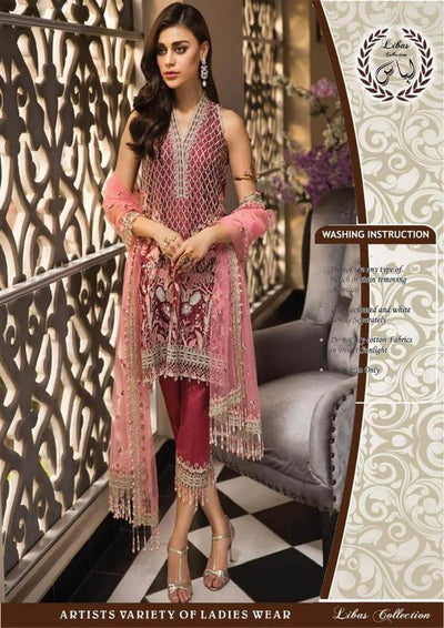 ANNAYA  Luxury Chiffon Collection  Replica - Unstitched