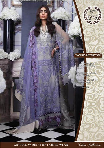 SANA SAFINAZ LUXURY Net COLLECTION  Replica - Unstitched