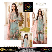 Bin Saad  Chiffon COLLECTION  Replica - Unstitched
