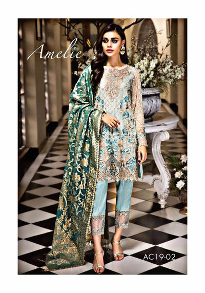 Anaya Chiffon Eid Collection Unstitched