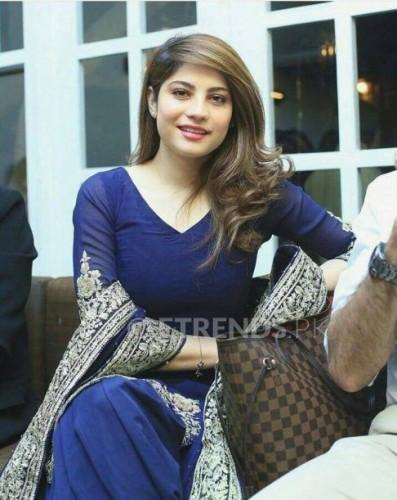 Neelam Munir Chiffon Dress
